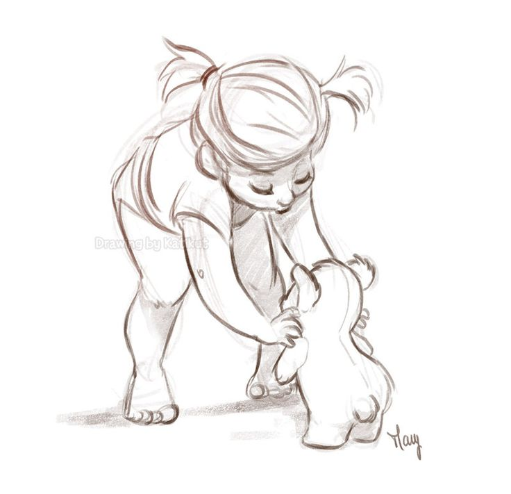Just so cute! Kids by Katikut http://www.deviantart.com/art/Another-challenge-Drawing-kids-541981908?utm_content=buffer39e4e&utm_medium=social&utm_source=pinterest.com&utm_campaign=buffer #cute #sketchbook #illustration