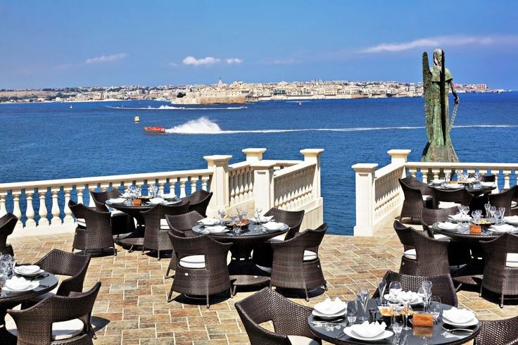 View of Ortigia from Grand Hotel Minareto