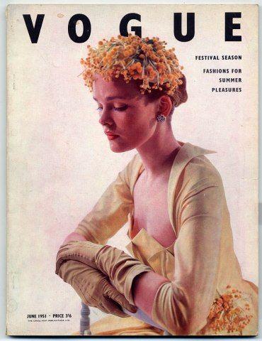 British Vogue June 1951photo by Norman Parkinson