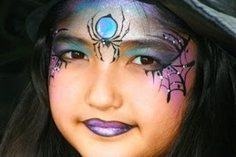 Un maquillage de sorcière, enfant ou adulte!
