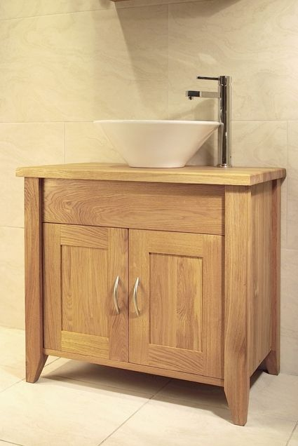 Superb Solid European Oak Single Size Wash Stand With 2 Doors, Shown With An Oak  Top. Oak BathroomBathroom FurnitureBathroom ...