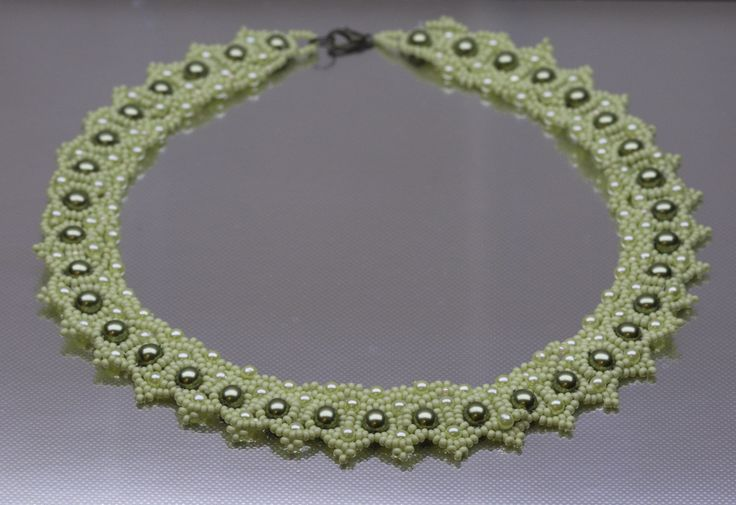 Ожерелье Зеленое