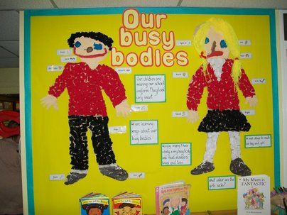 Ourselves Display, class display, Ourselves, Our Busy Bodies, Bodies, Art, Craft, Classroom Display, Early Years (EYFS), KS1 & KS2 Primary R...