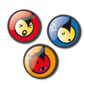 NIKIDOM Roller Emoticons Díszpatent #okosodjvelunk