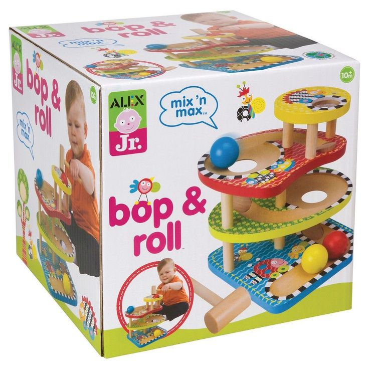 Alex Toys Bop And Roll, Shape Sorter