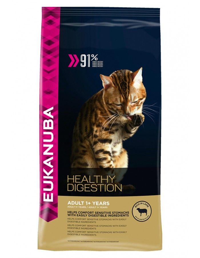 Eukanuba Cat Adult Healthy Digestion Lamb 4 kg