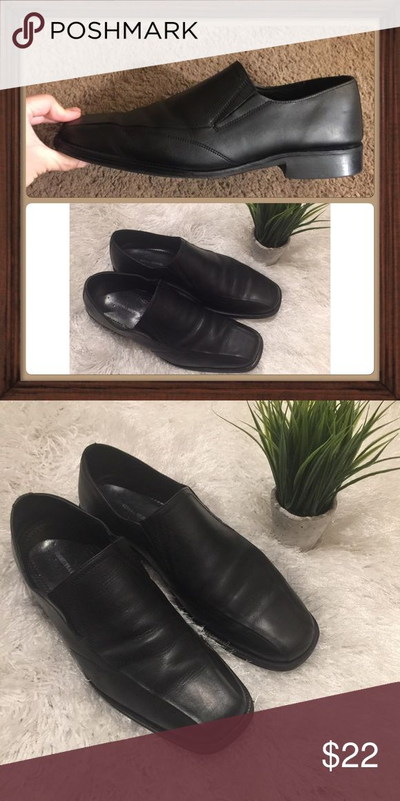 ⚡️SALE⚡️Johnston & Murphy black leather loafers Men's Johnston and Murphy back leather loafers size 11.5 . Pre-loved as shown in pictures. Johnston & Murphy Shoes Flats & Loafers