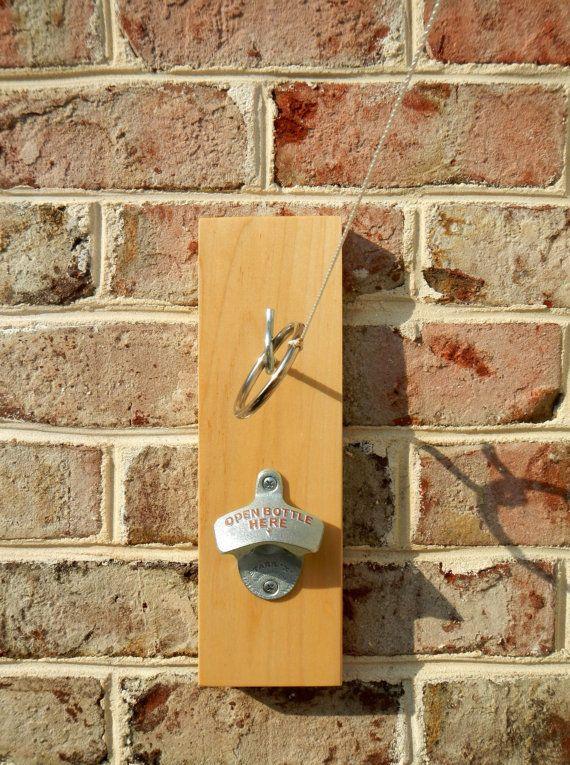 Ring toss with bottle opener