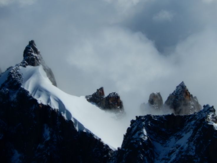 View from Mont Blanc, France  Taken by: Anna Killham  Pinterest: Anna K