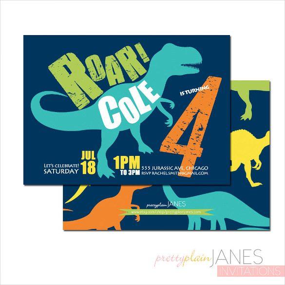 best 25+ dinosaur invitations ideas on pinterest | dinosaur, Birthday invitations