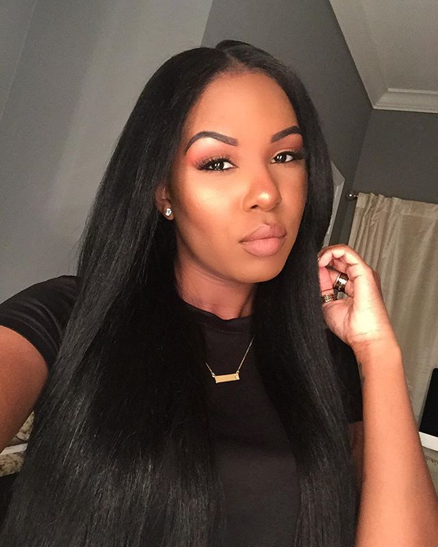 flat iron styles for black hair flat ironed hair goals au 5650