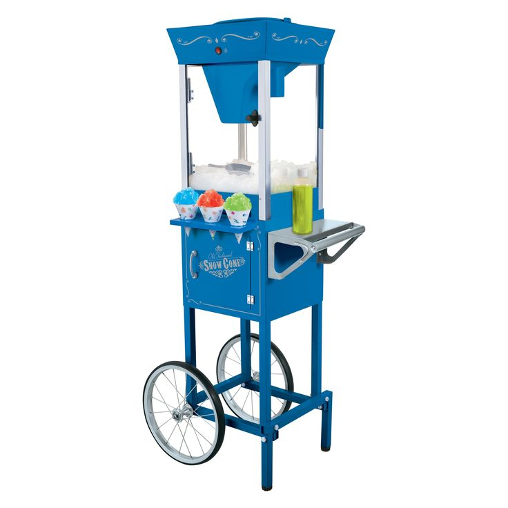 Nostalgia Electrics SCC-200 Vintage Collection Old Fashioned Snow Cone Cart $214.99