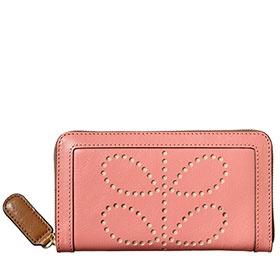 pink Orla Kiely wallet
