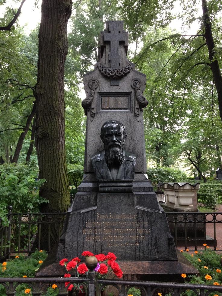 Fëdor Michajlovič Dostoevskij - Cimitero Tichvin, San Pietroburgo