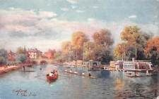 Picturesque Oxford, The Isis, Thames, boats, gondolas