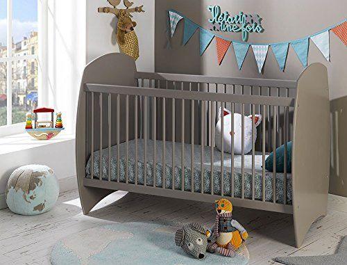 Soldes Alfred & Compagnie – Lit evolutif bébé 70×140 barreaux lin Violette: -Ce spacieux lit bebe evolutif 70×140, solide et épuré,…