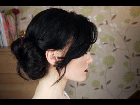 Messy Side Bun Hair Tutorial @Helga Tittjung Kaszewski Tittjung Kaszewski muren