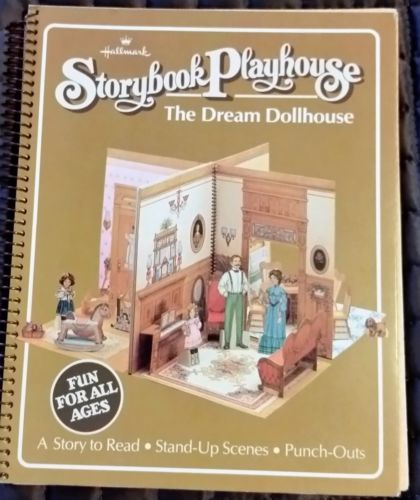 HALLMARK STORYBOOK PLAYHOUSE WITH PAPER DOLLS - THE DREAM DOLLHOUSE in Dolls & Bears, Dollhouse Miniatures, Doll Houses | eBay