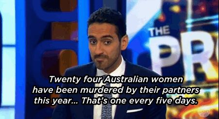 Waleed Aly Slams Australian Government For Lack Of Action On Domestic Violence