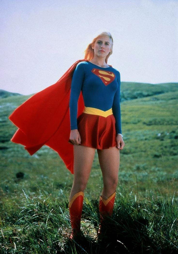 Helen Slater as #Supergirl