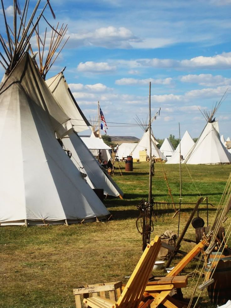 Ft. Bridger, Wyoming.. Annual Big Mountain Man Rendezvous over Labor Day Weekend.. living like the 1840's