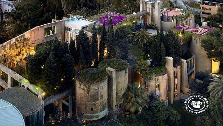 Biliyor muydun ? /// Mimar, 1. Dünya savaşından kalma, Terkedilmiş Çimento Fabrikasını Dönüştürerek Evi Yaptı. Evin Her Köşesi Ayrı Bir…