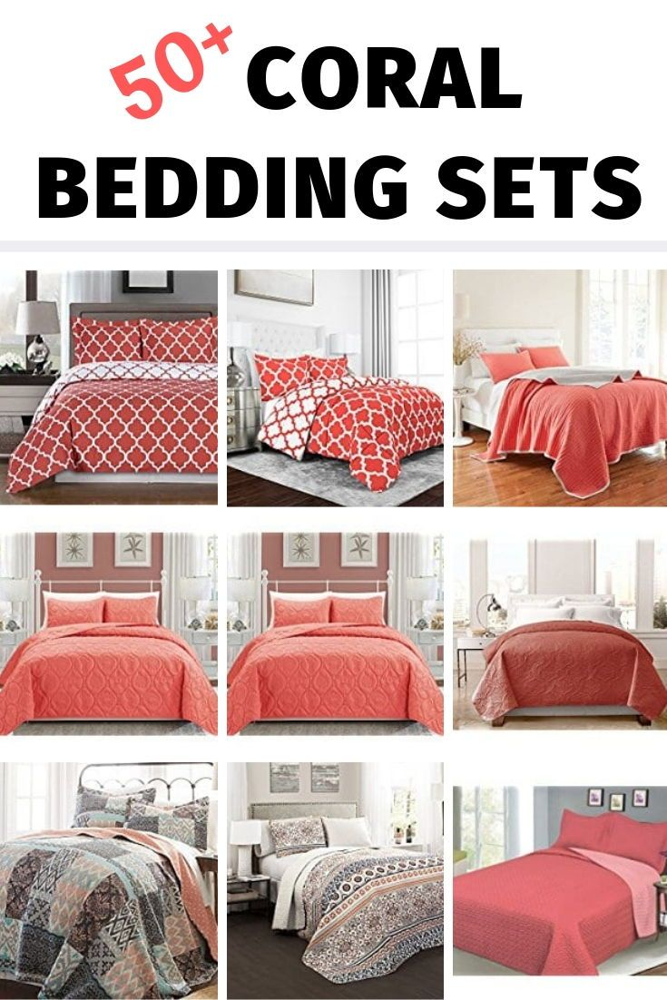 Coral Bedding Sets And Comforters Beachfront Decor Coral Bedding Coral Bedding Sets Coral Crib Bedding