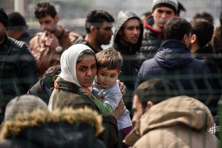 The mass migration of refugees from Turkey to Greece has stalled