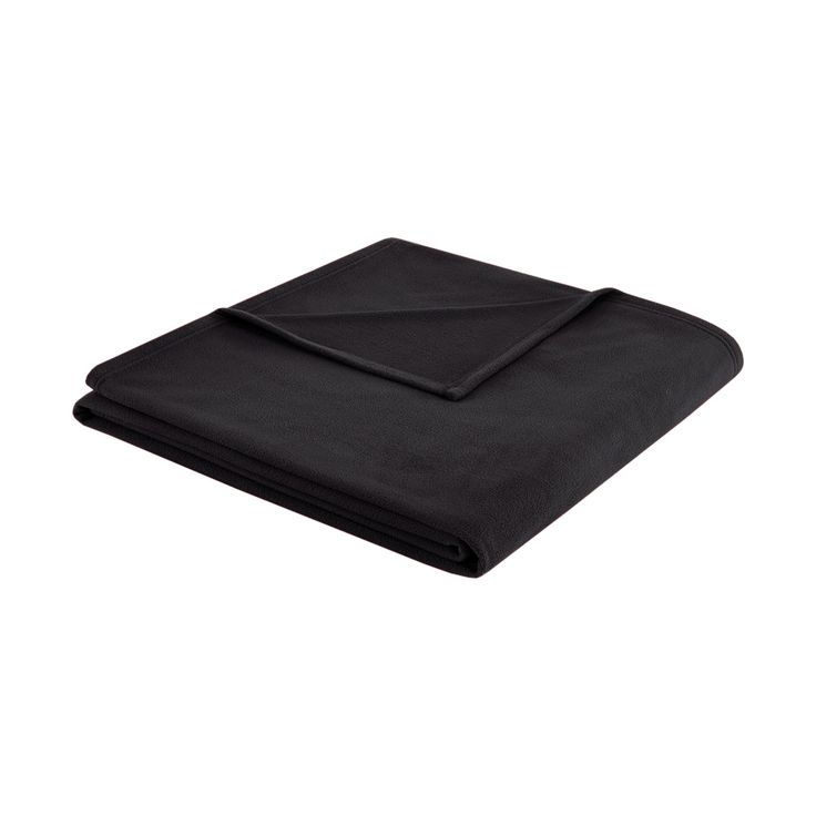 3M Scotchgard Micro Fleece Blanket (Full/Queen) Black