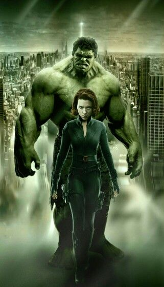 Hulk and black widow