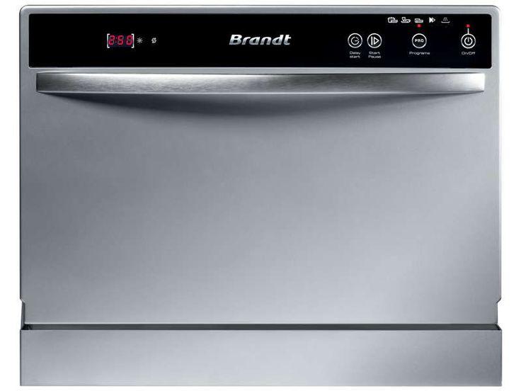 Lave vaisselle compact BRANDT DFC1106S - BRANDT - Vente de Lave-vaisselle - Conforama