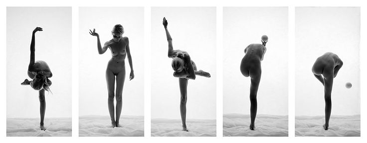 fine art nude photography instalation by Robert Zielinski