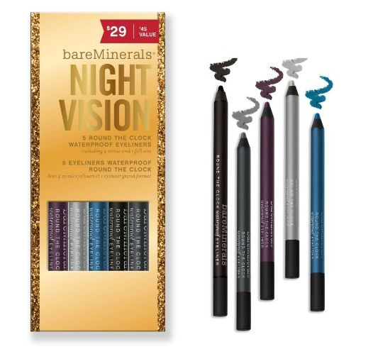 Bare Minerals Round the Clock Eyeliner Set - Night Vision