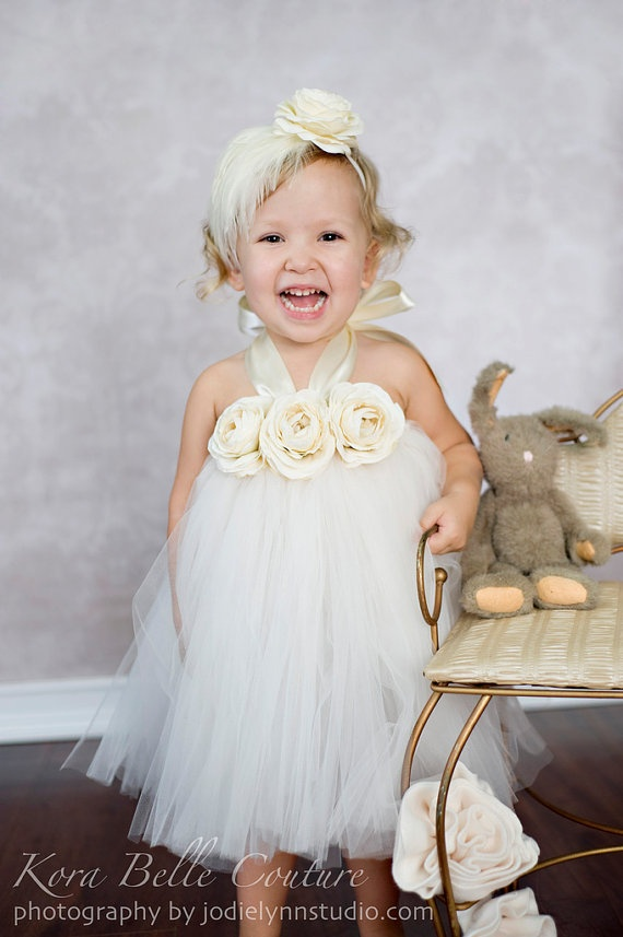 Flower girl tutu dress! This will be ken in my wedding! ❤
