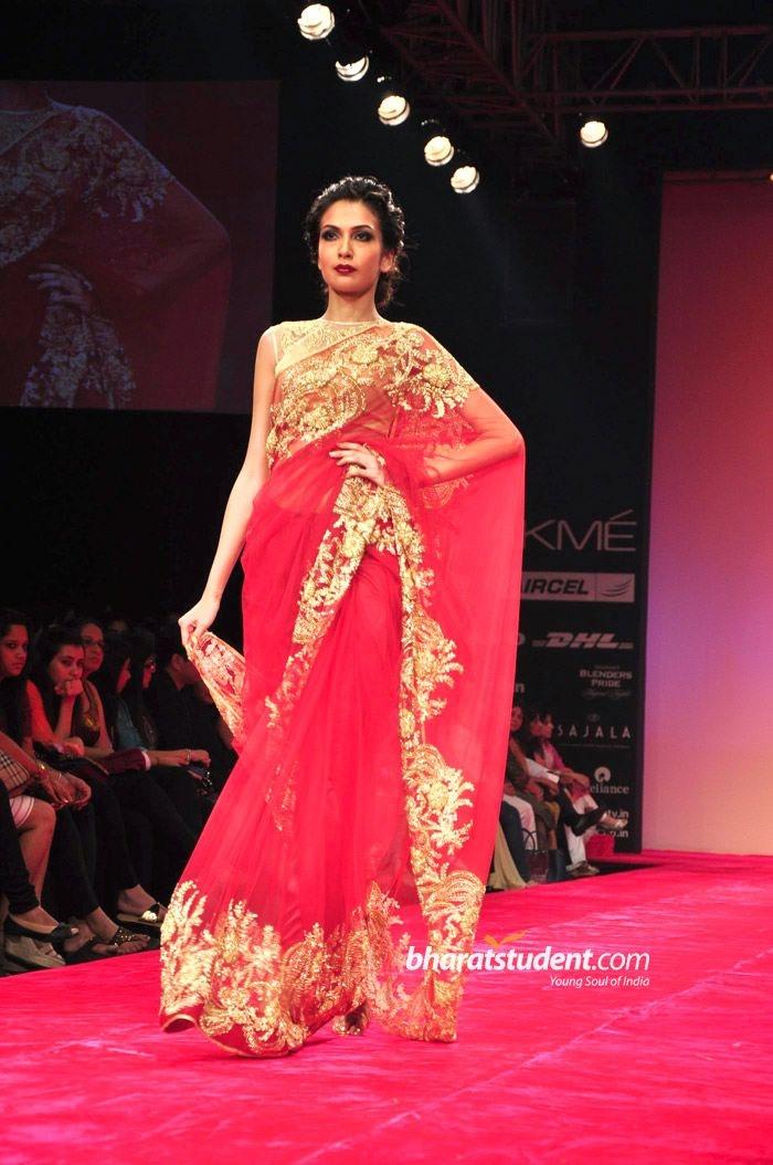 Bhairavi Jaikishan Show at Lakme Fashion Week Winter/Festive 2012
