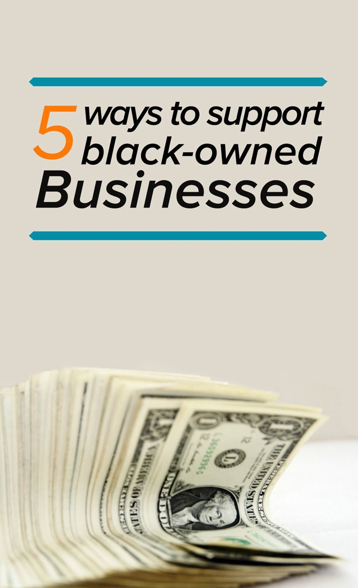Giving back to black-owned businesses is a great way support black entrepreneurs.
