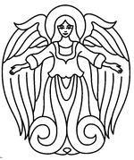 Free Printable Angel Patterns and Angel Symbols