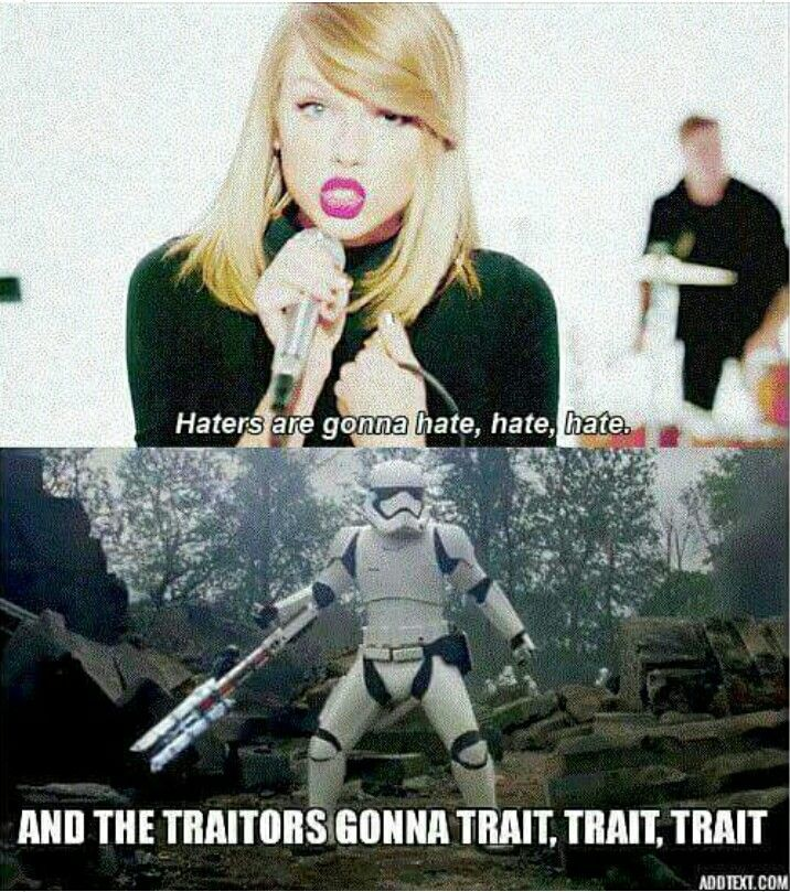 The force awakens meme