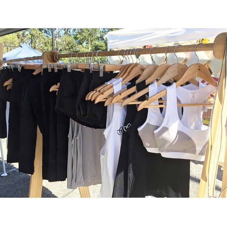 @femmebodyactive at the markets!  www.femmebody.com.au  #femmebodyactive #activewear #fitness #markets #energiseyourconfidence