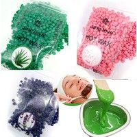 About the Item: This is depilatory pearl hard wax with five colors for choice. There's no need f