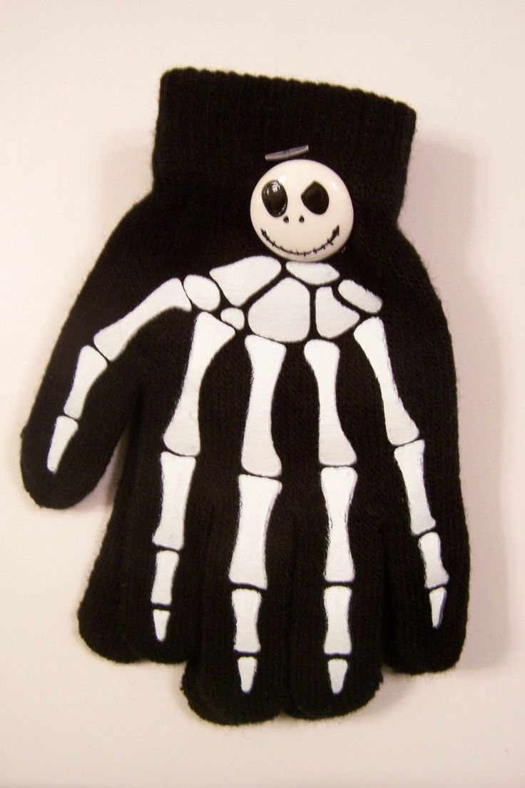 Jack skellington bathroom set - Glow In The Dark Jack Skellington Nightmare Before Christmas Gloves