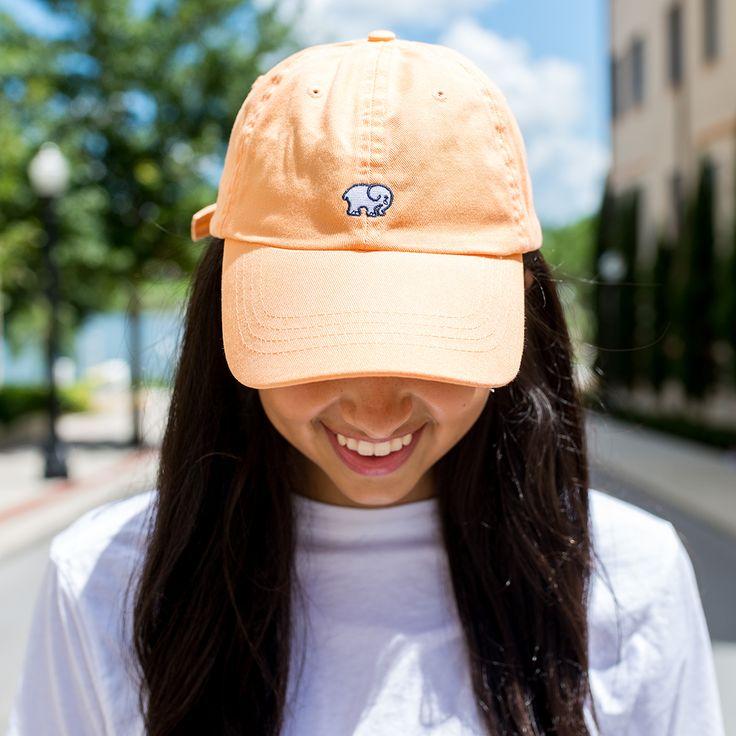 Tangerine Ella Baseball Cap – Ivory Ella