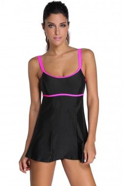 L-XXXL Plus Size Summer Swimming Suit For Women Tankini Beach Tankinis 2016 Sexy Ladies Swimsuit Skirt With Tankini