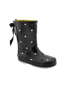 polkadot rain boots | Gap