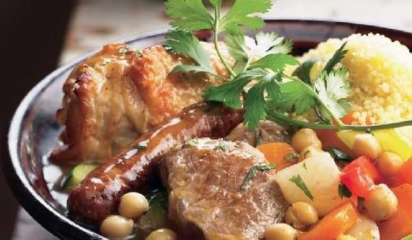 Couscous royal algerien