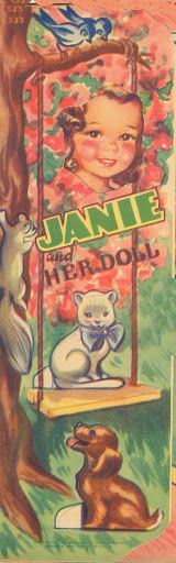 Jane and her Doll 1943 Lowe