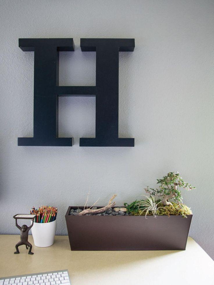 Make a Desktop Garden | Interior Design Styles and Color Schemes for Home Decorating | HGTV