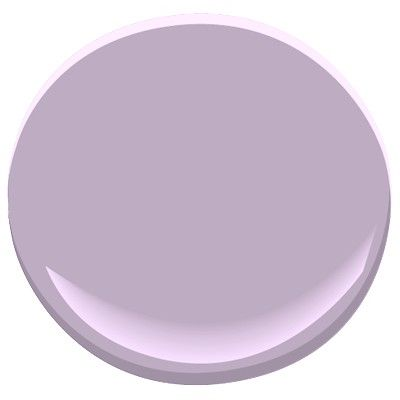 Lavender Lipstick by Benjamin Moore - perfect paint shade, purple but not too bright or overwhelming