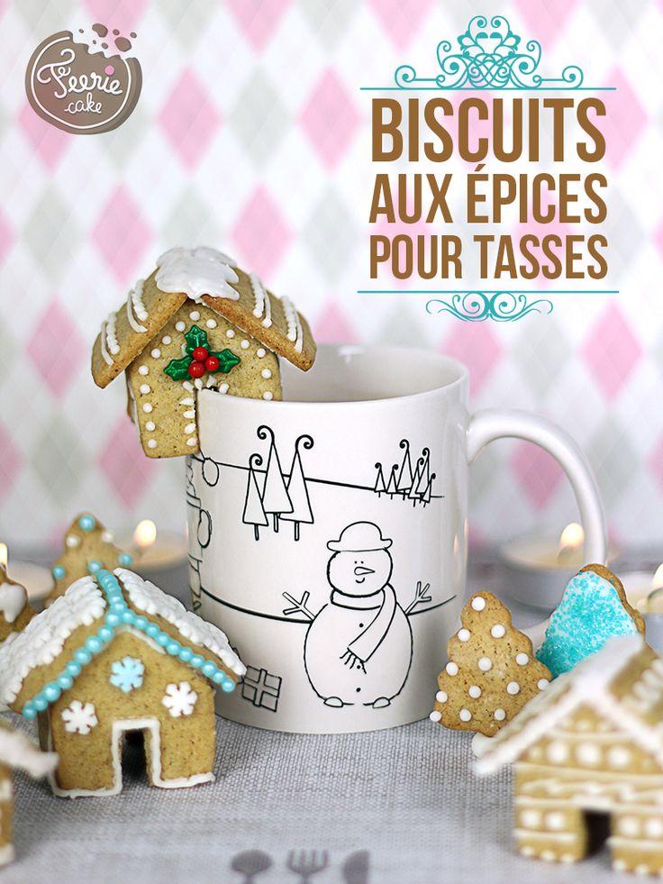 Des biscuits qui sentent bon les épices et un délicieux chocolat chaud pour vous réchauffer.