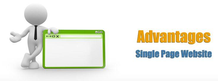 Advantages of single page website over multipage website  http://dbanerjee.com/single-page-website-designer/